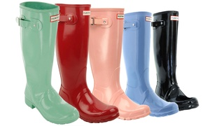 Hunter Women's Original Tall Gloss or Tall Rain Boots (Sizes 5 & 6)