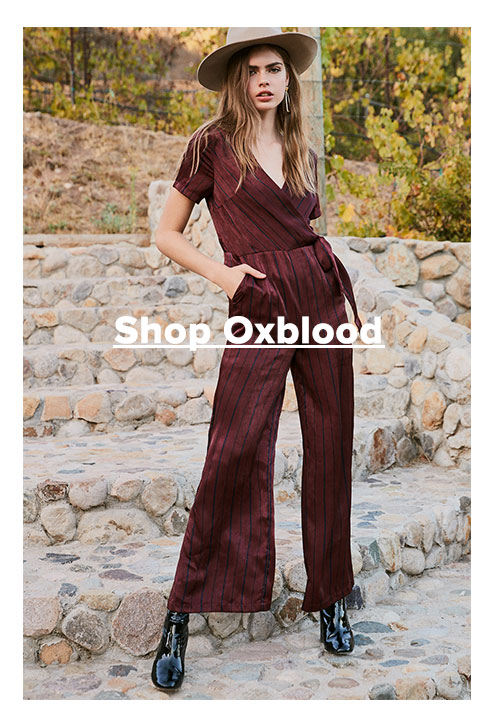 Shop oxblood