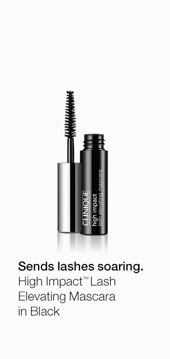 Sends lashes soaring. High Impact(TM) Lash Elevating Mascara in Black