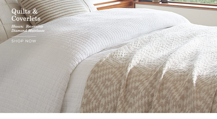 Quilts & Coverlets - SHOP NOW