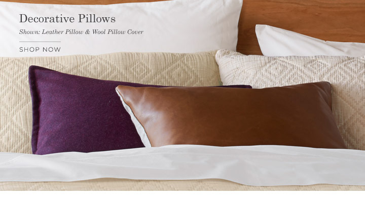 Decorative Pillows - SHOP NOW