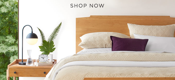 From American-made beds, dressers, and nightstands to quality sheets, bedding, and textiles, discover timeless bedroom essentials that are made to last.