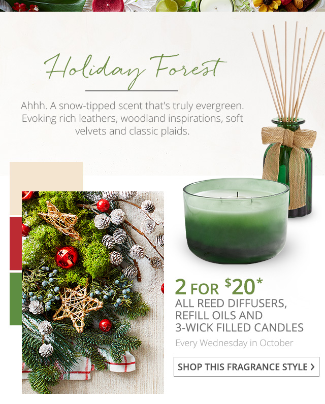 Holiday Forest. Shop this fragrance style.