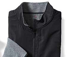 G4036 - Reebok Speedwick Mixed Media Full-Zip Jacket