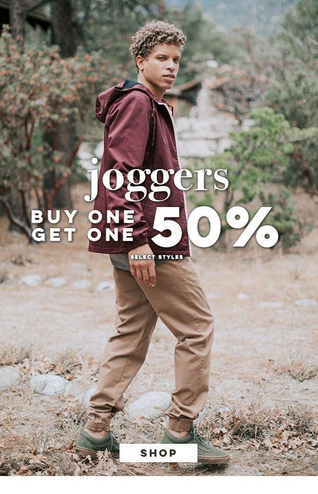 JOGGERS - Buy 1, Get 1 50%