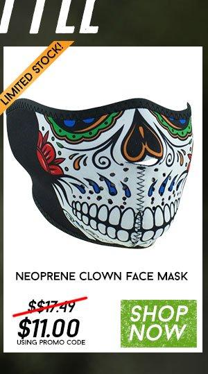Zan Headgear Muerte Skull Half Face Mask