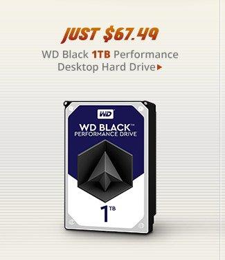 WD Black 1TB Performance Desktop Hard Drive