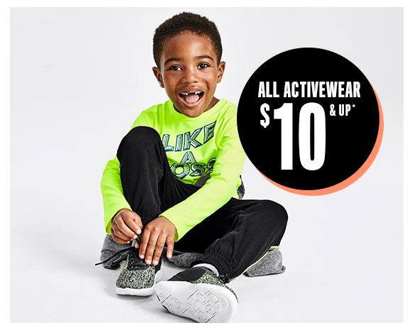 All Activewear $10 & Up