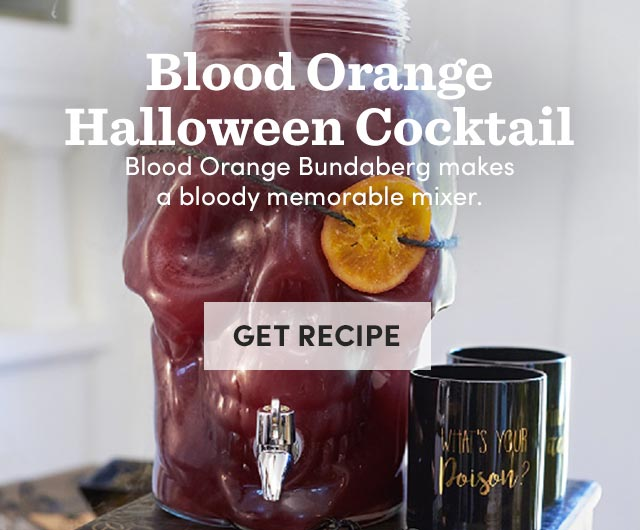 Blood Orange Halloween Cocktail. Get Recipe ›