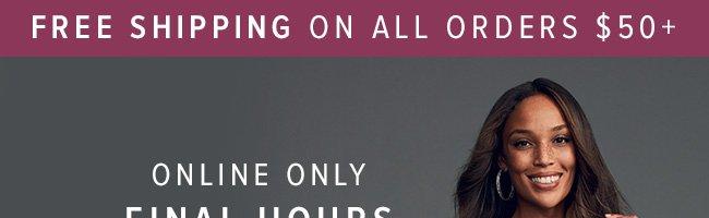 Final Hours Sale