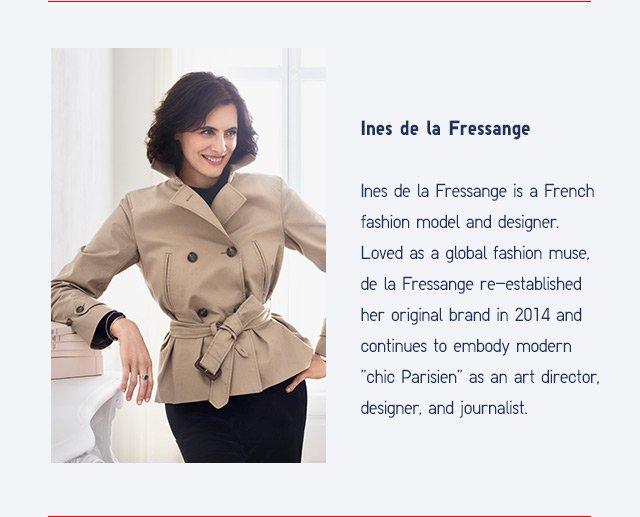 BIO:  Ines De La Fressange