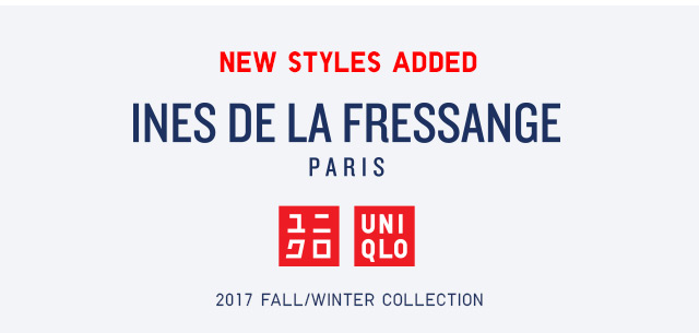 NEW STYLES ADDED - Ines De La Fressange -- SHOP NOW