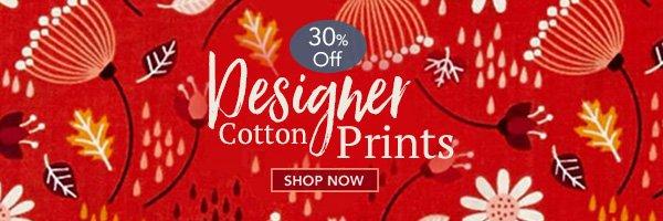 Designer Cotton Prints