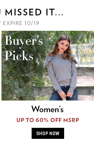 Women's Buyer's Picks