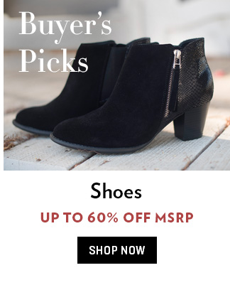 Buyer's Picks Footwear