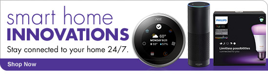 smart home INNOVATIONS Stay connected to your home 24/7 Shop Now