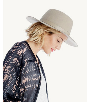 Shop Wide Brim Wool Hat