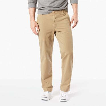 Downtime Khaki with Smart 360 Flex, Straight Fit