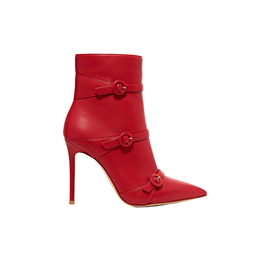 Gianvito Rossi Robin Buckled Ankle Boots