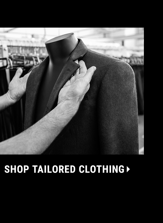 Shop Tailored Clothing