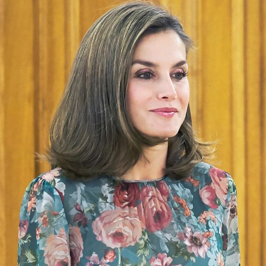 Hurry: Queen Letizia's $90 Zara Dress Is Still in Stock