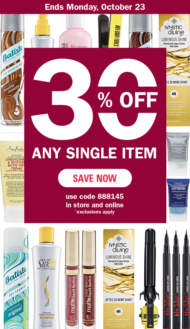 30% Off Save Now