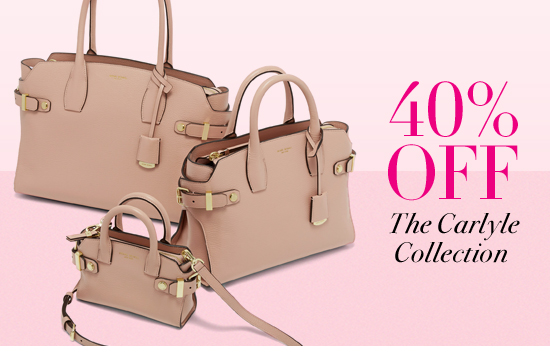 40% Off The Carlyle Collection
