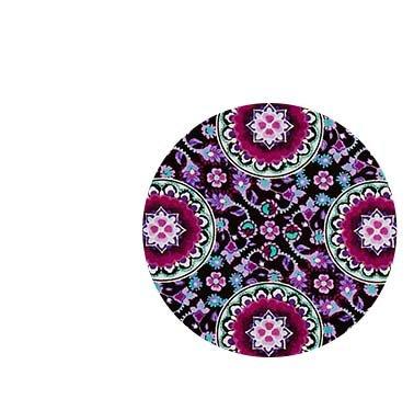 Lilac Medallion