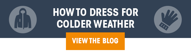 How To Dress For Colder Weather - VIEW THE BLOG