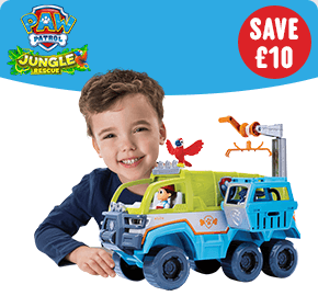 Paw Patrol Jungle Terrain Vehicle