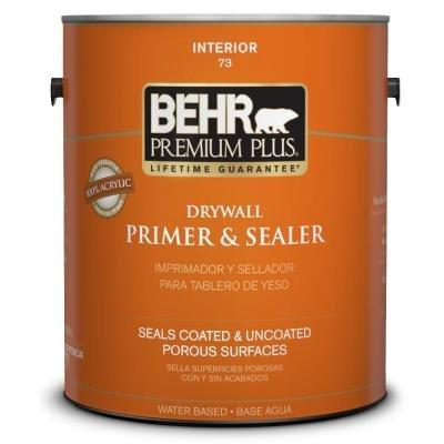 BEHR Premium Plus 1 gal. Drywall Primer and Sealer, White