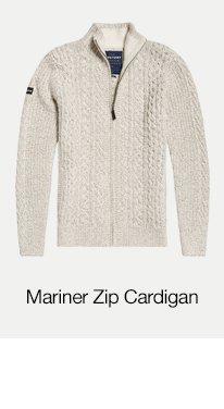 Mariner Zip Through Cardigan