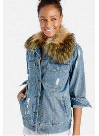 Shop BLANKNYC Group Love Denim Jacket
