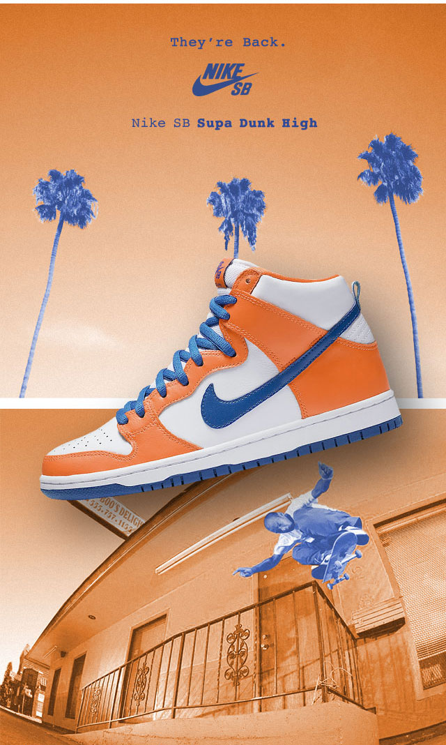 more photos 07416 21b59 Nike SB Dunk High Danny Supa QuickStrike Shoes