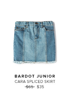 BARDOT JUNIOR - CARA SPLICED SKIRT