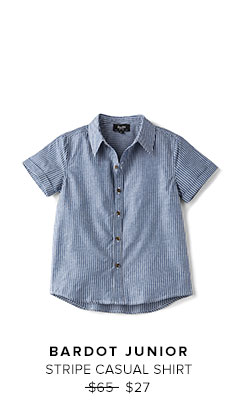BARDOT JUNIOR - STRIPE CASUAL SHIRT