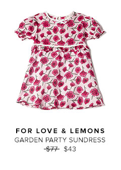 FOR LOVE & LEMONS - GARDEN PARTY SUNDRESS