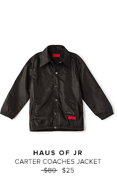 HAUS OF JR - CARTER COACHES JACKET
