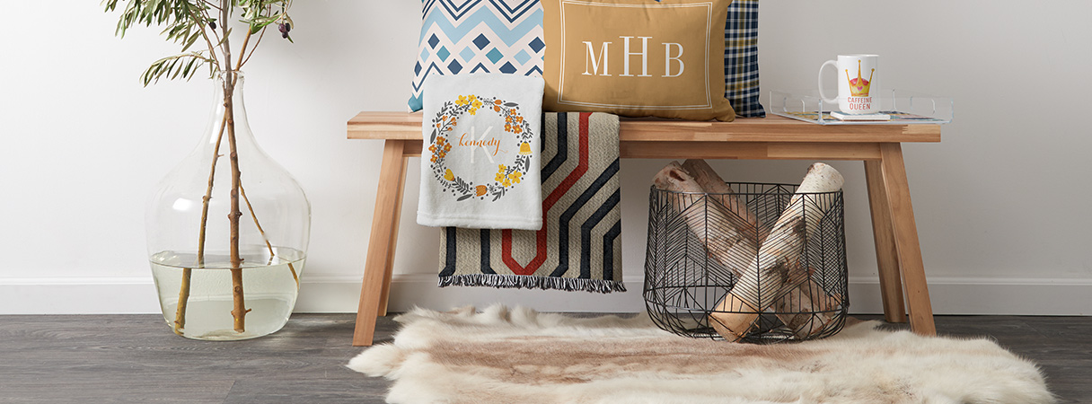 Up to 40% Off Blankets, Pillows, Lamps, Wood Wall Art, and More
