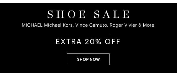 SHOE SALE EXTRA 20% OFF, SHOP NOW