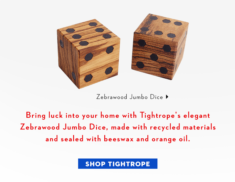 Meet our designer crush, Tightrope!