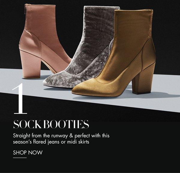 Sock Booties. Shop Now.