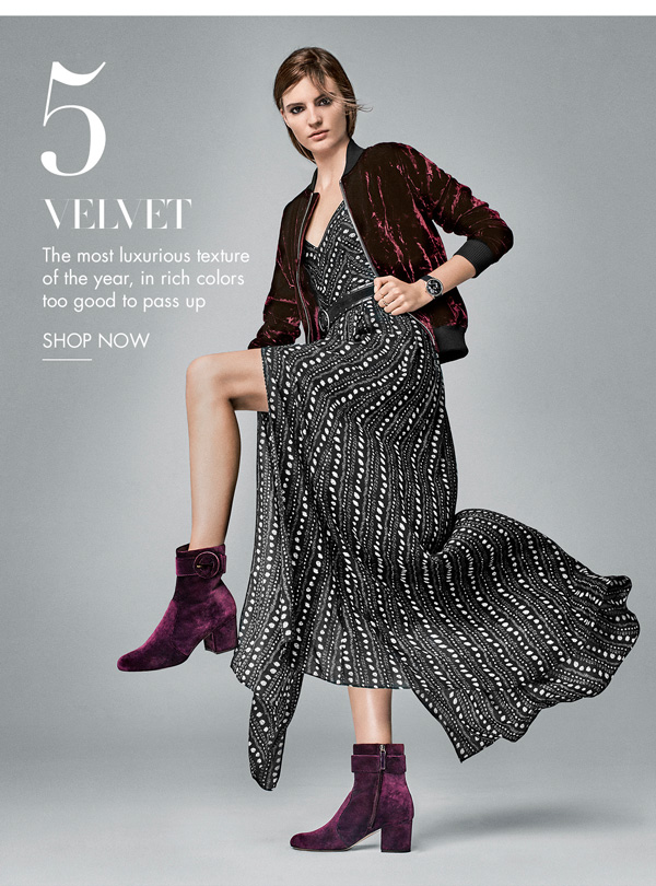 Velvet. Shop Now.