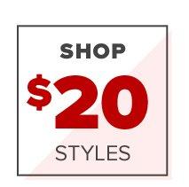 Shop $20 Styles