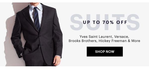 SUITS UP TO 70% OFF