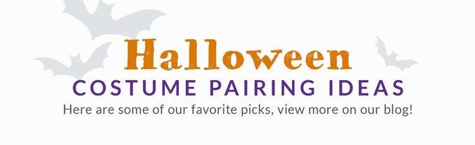 Halloween costume pairing ideas