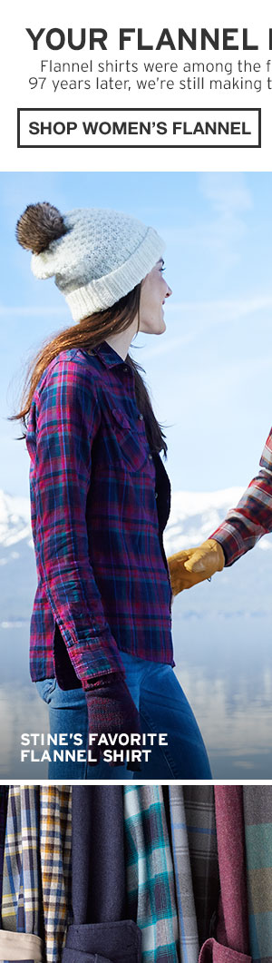 FLANNEL HEADQUARTERS | SHOP WOMEN'S FLANNEL