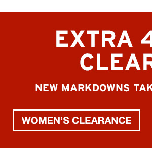 EXTRA 40% OFF | SHOP WOMEN'S CLEARANCE