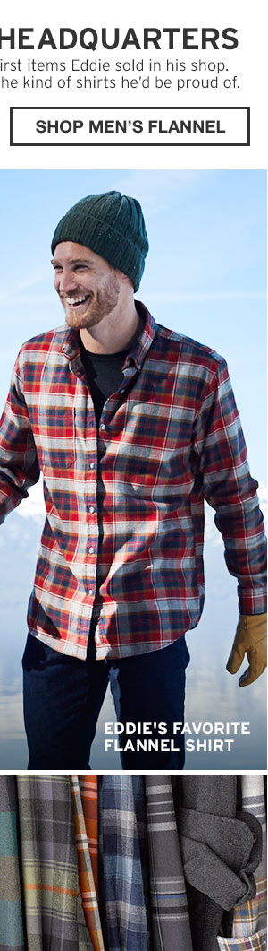 FLANNEL HEADQUARTERS | SHOP MEN'S FLANNEL
