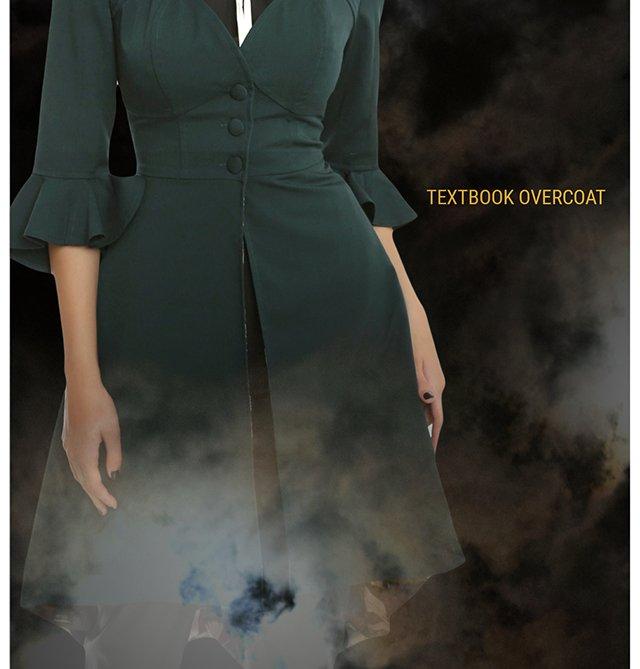 Teztbook Overcoat
